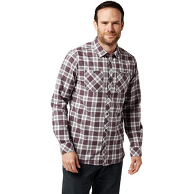 Craghoppers Andreas Longsleeve Shirt Men Red Wine Combo Checkered